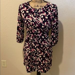 Ann Taylor button up dress
